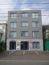北海道札幌市中央区南四条西24丁目の賃貸マンションの外観