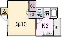 武田ビル[2階]の間取り