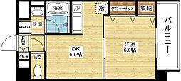 新大阪南グランドマンション[4階]の間取り
