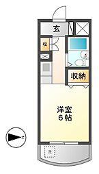 メゾン・ド・コンコルド[4階]の間取り