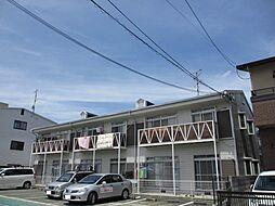 田野コーポ[2階]の外観