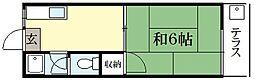 碧叡荘[1階]の間取り
