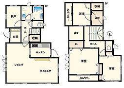 [一戸建] 東京都中野区弥生町3丁目 の賃貸【/】の間取り