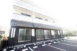 広島県広島市南区出島2丁目の賃貸アパートの外観