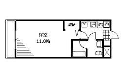 メルベーユサトウ[4階]の間取り
