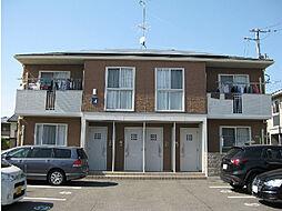 愛媛県伊予郡松前町大字浜の賃貸アパートの外観
