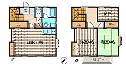 [テラスハウス] 東京都町田市木曽東3丁目 の賃貸【東京都 / 町田市】の間取り