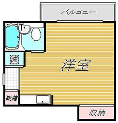 ペガサスマンション渋谷本町第3[1階]の間取り
