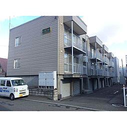 北海道札幌市東区北44条東15丁目の賃貸アパートの外観