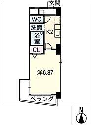 エコ・ファイブ守山[2階]の間取り