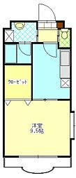 エクセレント富士[2階]の間取り