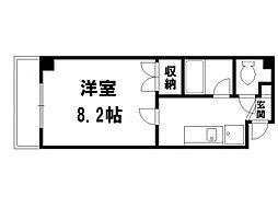 M・FLAT[3階]の間取り