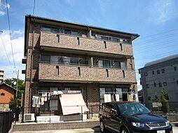 愛知県名古屋市中川区長須賀2丁目の賃貸アパートの外観