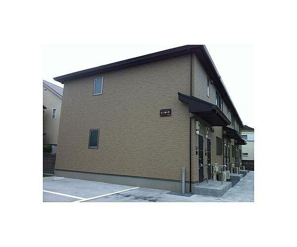 東京都府中市是政3丁目の賃貸アパートの外観