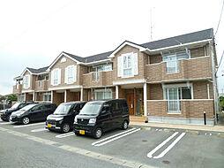 静岡県磐田市二之宮の賃貸アパートの外観