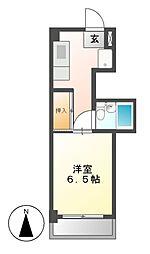 サンメゾン穂[2階]の間取り
