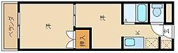 エリオットグリーンII[2階]の間取り
