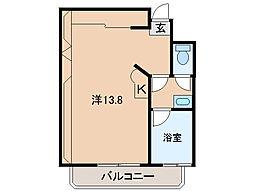 NK VILLAGE[2階]の間取り