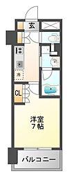 アーバネックス江坂広芝[14階]の間取り