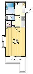 センチュリーコート本川越[3階]の間取り