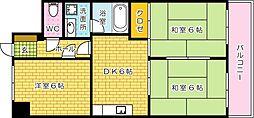 新中広ビル[603号室]の間取り