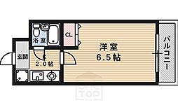 第17長栄シャルマン四条大宮壱番館[3階]の間取り