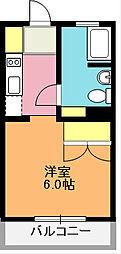 埼玉県上尾市柏座1丁目の賃貸マンションの間取り