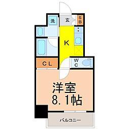 レジデンシア花の木[5階]の間取り