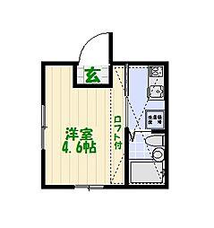 レユシール青砥[2階]の間取り