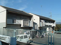 神奈川県南足柄市塚原の賃貸アパートの外観
