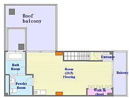 イングLビル[4階]の間取り