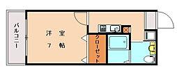 カーサマッサ[2階]の間取り