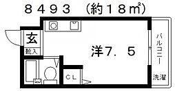ハイツ住吉II[107号室号室]の間取り