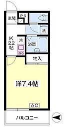 石橋阪大前駅 徒歩3分2階Fの間取り画像