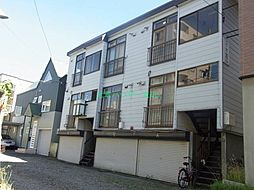 北海道札幌市東区北十五条東6丁目の賃貸アパートの外観