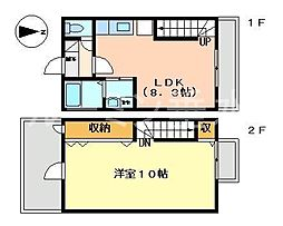 [テラスハウス] 兵庫県神戸市垂水区星陵台7丁目 の賃貸【/】の間取り