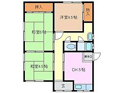 [一戸建] 三重県桑名市高塚町5丁目 の賃貸【/】の間取り