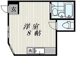 東京都豊島区池袋本町3丁目の賃貸マンションの間取り