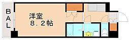 福岡県福岡市中央区警固3の賃貸マンションの間取り
