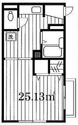 フォレスタ・リブレ[2階]の間取り
