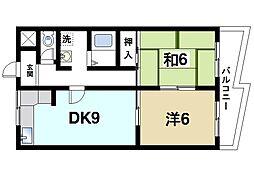 SSKビル[6階]の間取り