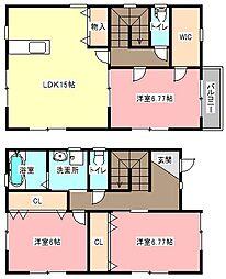 [一戸建] 静岡県浜松市中区葵東2丁目 の賃貸【/】の間取り