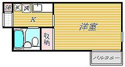 ジャヴァ八広ハイツ[2階]の間取り