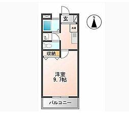 マンション大洋II[B-3号室]の間取り
