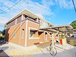 広島県広島市安佐南区相田6丁目の賃貸アパートの外観