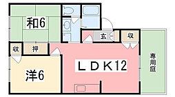 NKコーポ[101号室]の間取り