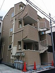 東京都墨田区八広3丁目の賃貸アパートの外観