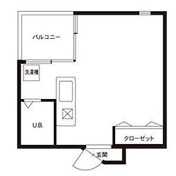 A2ビル[211号室]の間取り