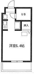 プレステージ湘南台[1階]の間取り