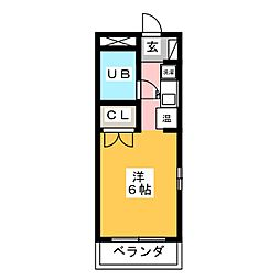 第5塚本ハイツ[2階]の間取り
